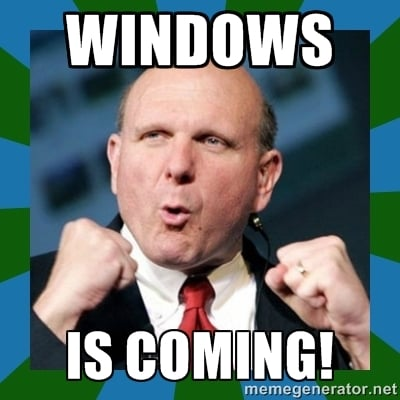 windowsiscoming