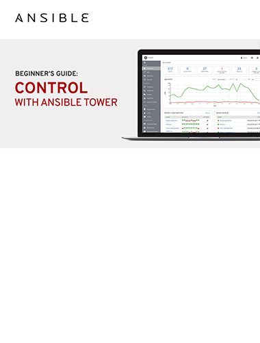 Control with Ansible Tower