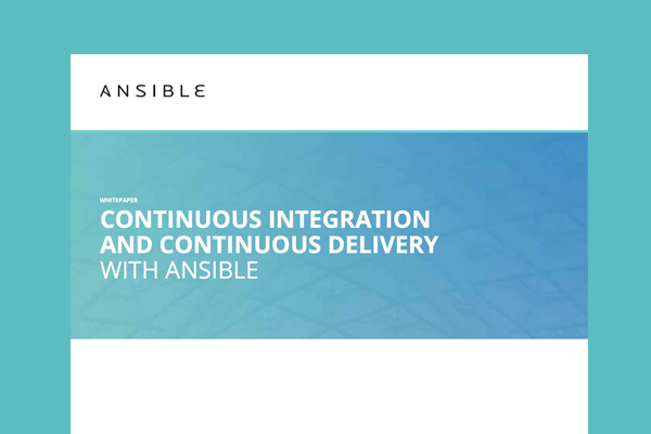 Ansible Whitepaper - Continuous Integration