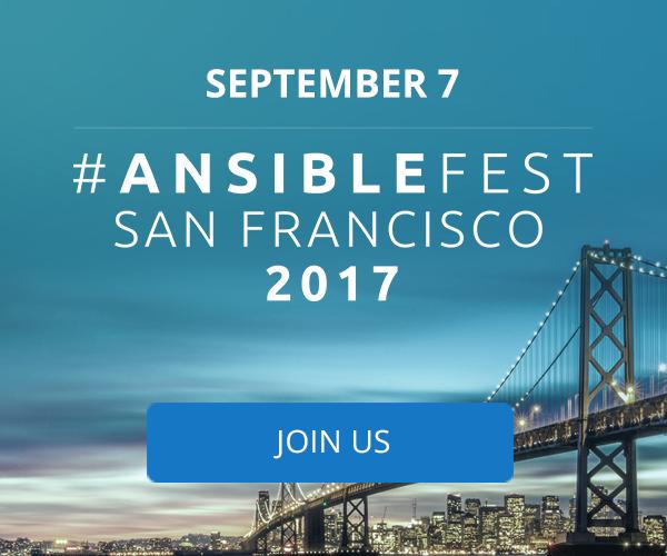 AnsibleFest SF 2017