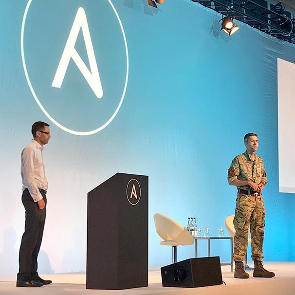 AnsibleFest London British Army talk