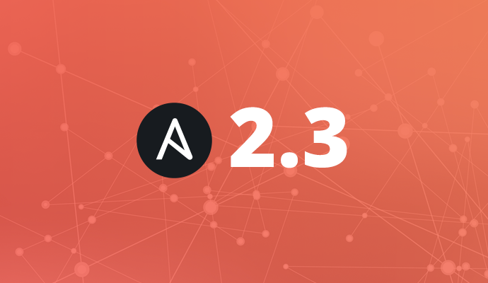Ansible 2.3 Networking Update