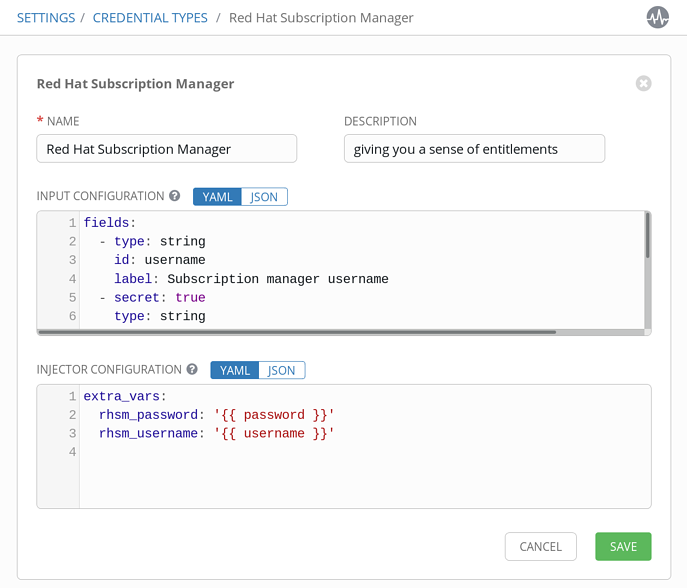 Ansible Tower Feature Spotlight: Custom Credentials