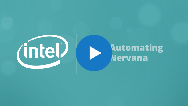 Stephen Cole Video - Automating Intel Nervana