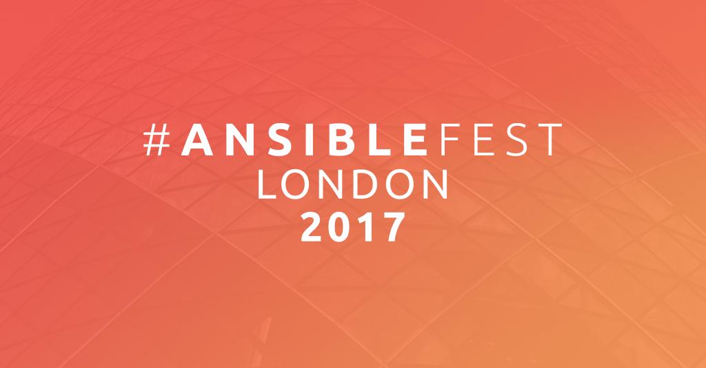 AnsibleFest London 2017