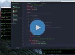 Networking Demo Screenshot