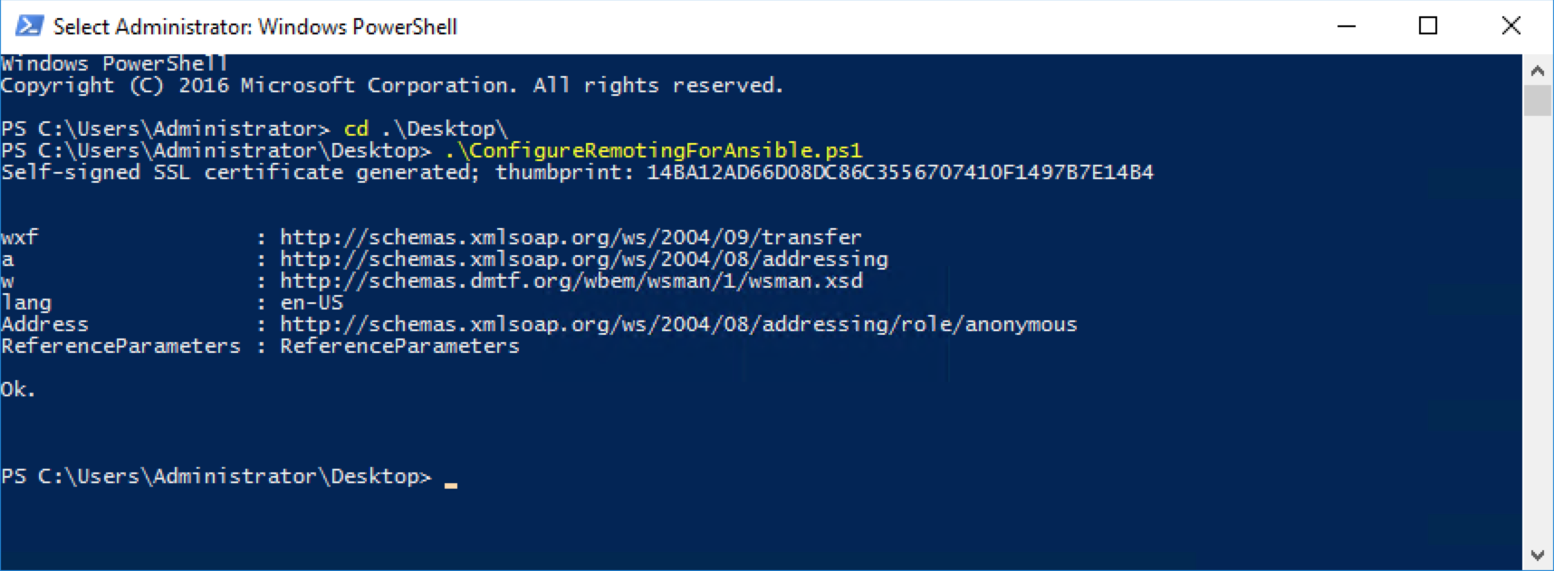 Ansible-Windows-Powershell