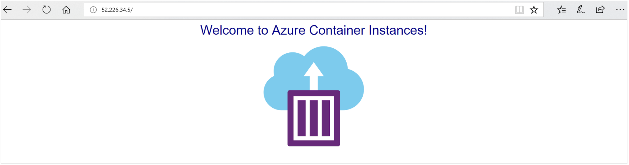 Microsoft-Azure-container-instance