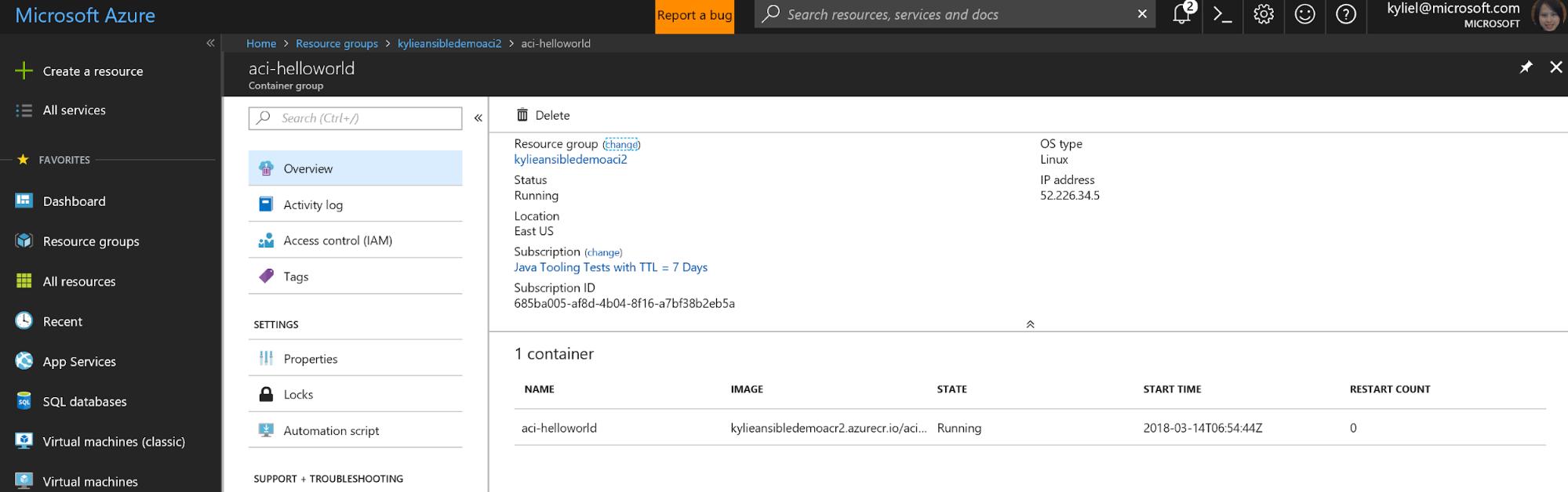 Microsoft-Azure-portal