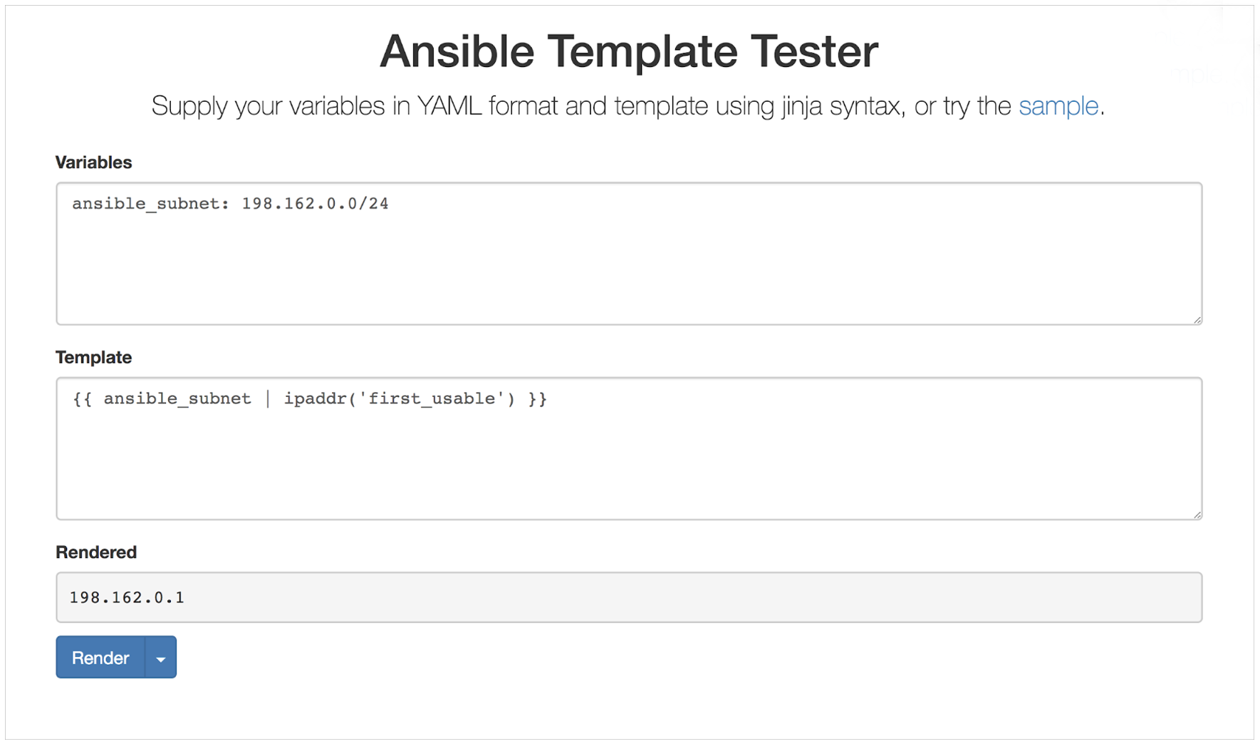 Infoblox-Roles-Deep-Dive-Ansible-Template-Tester