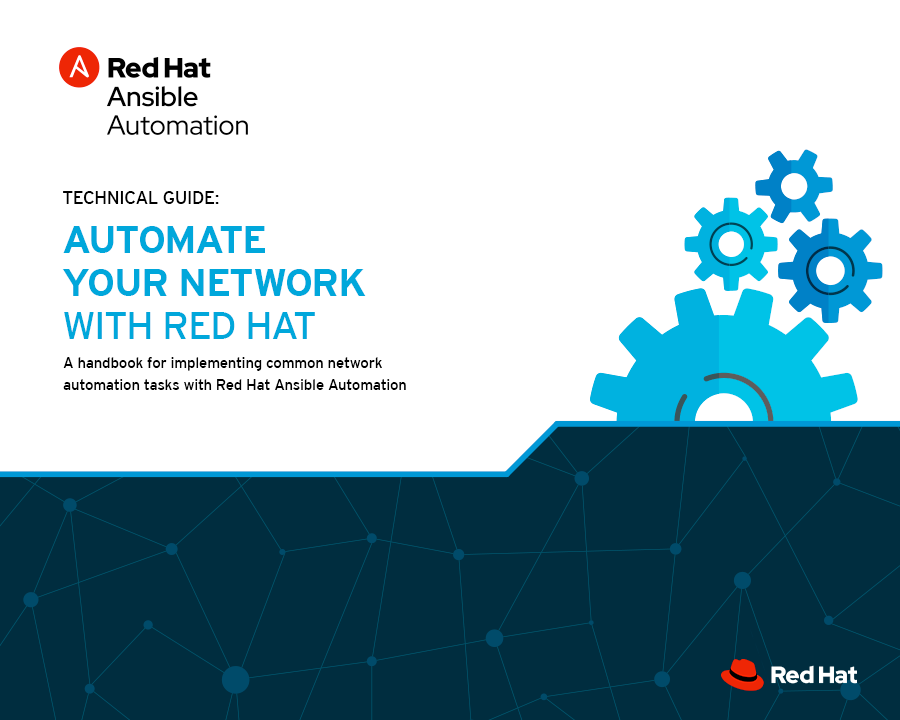 Network Automation with Red Hat excerpt