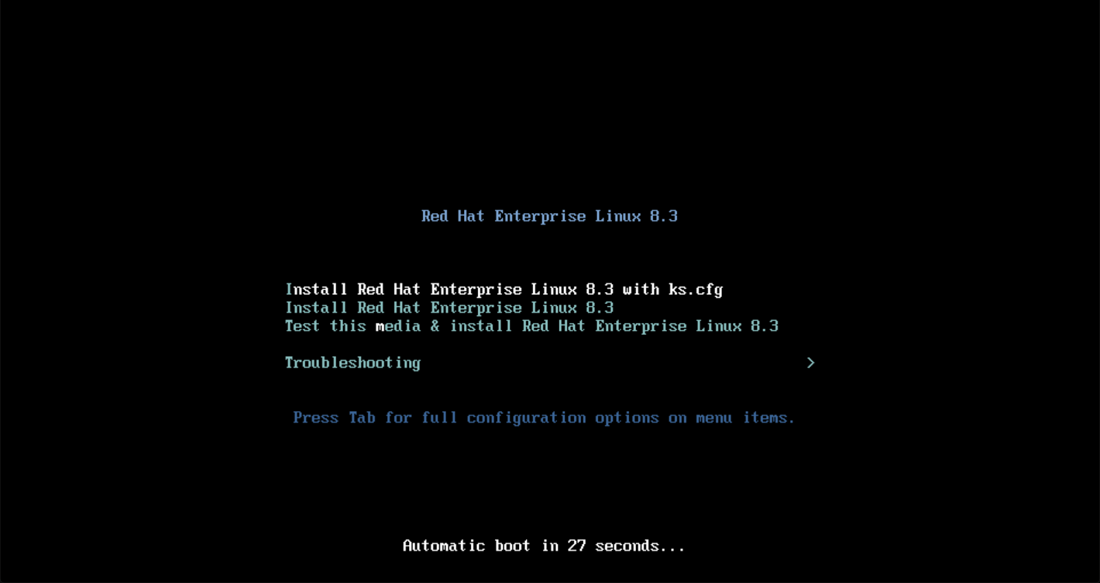 Automating a RHEL 8 Installation Using the VMware REST Ansible Collection