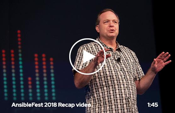 AnsibleFest 2018 recap video